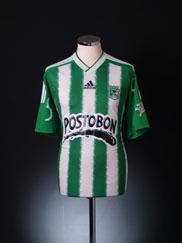 2010 Atletico Nacional Home Shirt XL