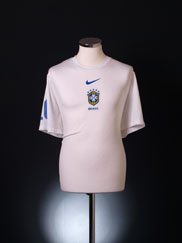 2010 Brazil Pre-Match Training Shirt XL