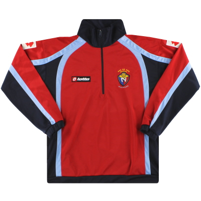 2010 El Nacional Lotto 1/2 Zip Track Top S