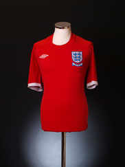 2010 England Away Shirt L
