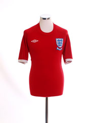 2010 England 'South Africa' Away Shirt M