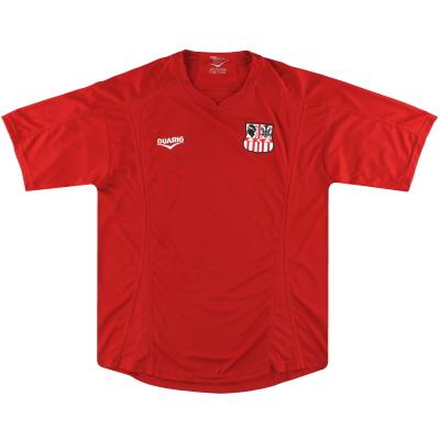 2011-12 AC AjaccioTraining Shirt XL