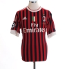 2011-12 AC Milan European Home Shirt Prince #27 M