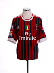 2011-12 AC Milan Home Shirt *Mint* XL