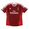 2011-12 AC Milan Match Issue Home Shirt Ambrosini #23
