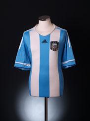 2011-12 Argentina Home Shirt L