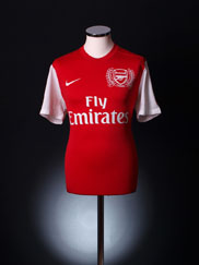 2011-12 Arsenal '125th Anniversary' Home Shirt XL