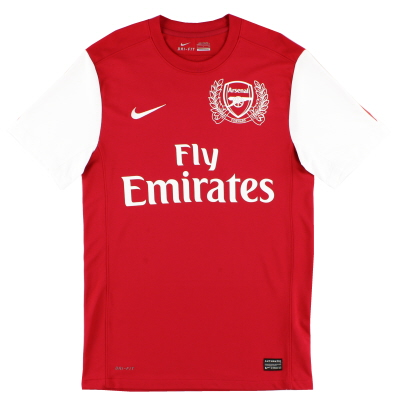 2011-12 Arsenal '125th Anniversary' Home Shirt XXL