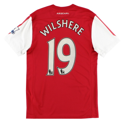 2011-12 Arsenal '125th Anniversary' Home Shirt Wilshere #19 S