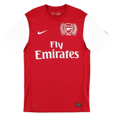 2011-12 Arsenal Nike '125th Anniversary' Home Shirt M