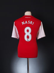 2011-12 Arsenal '125th Anniversary' Home Shirt Nasri #8 L