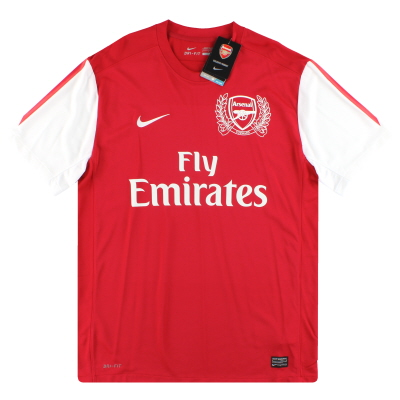 2011-12 Arsenal '125th Anniversary' Nike Home Shirt *w/tags* L