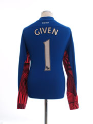 2011-12 Aston Villa Goalkeeper Shirt Given #1 M