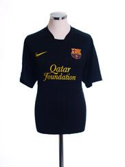 2011-12 Barcelona Away Shirt XXL
