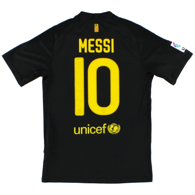 2011-12 Barcelona Away Shirt Messi #10 XXL