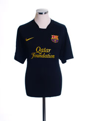 2011-12 Barcelona Away Shirt L