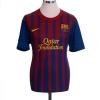 2011-12 Barcelona Home Shirt A. Iniesta #8 M
