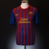 2011-12 Barcelona Home Shirt Dani Alves #2 M