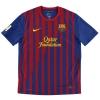 2011-12 Barcelona Home Shirt Fabregas #4 *Mint* M