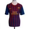 2011-12 Barcelona Home Shirt Messi #10 L
