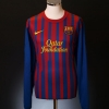 2011-12 Barcelona Home Shirt Messi #10 *As new* L/S XL
