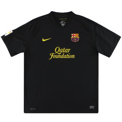 2011-12 Barcelona Nike Away Shirt L