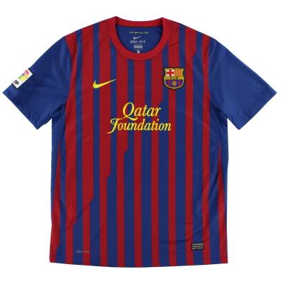 2011-12 Barcelona Nike Home Shirt S