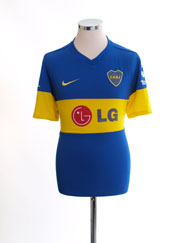 2011-12 Boca Juniors Home Shirt L