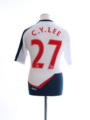 2011-12 Bolton Home Shirt C. Y. Lee #27 M