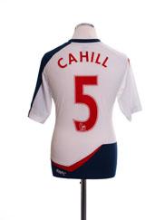 2011-12 Bolton Home Shirt Cahill #5 M