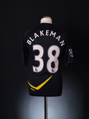 2011-12 Bolton Player Issue Away Shirt Blakeman #38 *As New*