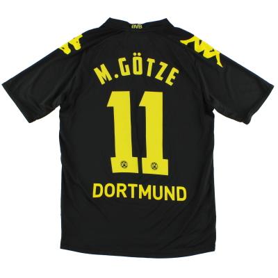 2011-12 Borussia Dortmund Away Shirt M.Gotze #11 S