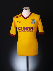 2011-12 Burnley Away Shirt L