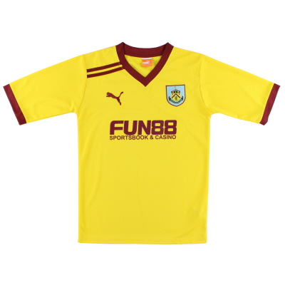 2011-12 Burnley Away Shirt S