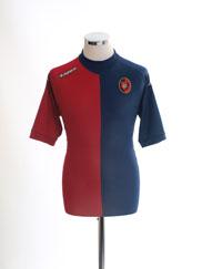 2011-12 Cagliari Home Shirt Y