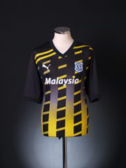 2011-12 Cardiff City Third Shirt XL