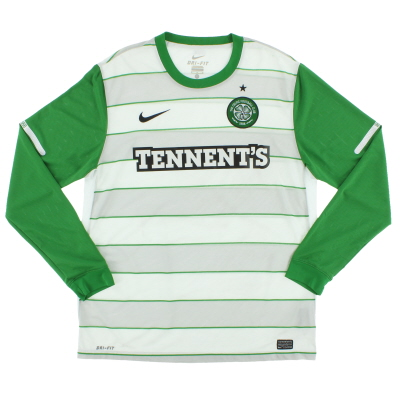 2011-12 Celtic Away Shirt L/S S