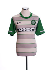 2011-12 Celtic Away Shirt M