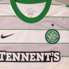 2011-12 Celtic Match Issue Away Shirt Stokes #10 XL