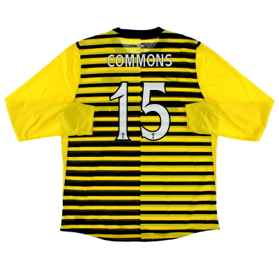 2011-12 Celtic Player Issue Third Shirt Commons #15 L/S XXL