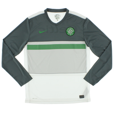 2011-12 Celtic Training Shirt L/S L