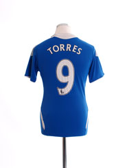 2011-12 Chelsea Home Shirt Torres #9 Y