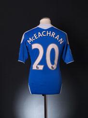 2011-12 Chelsea TechFit Player Issue Home Shirt McEachran #20 M