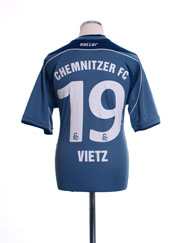 2011-12 Chemnitzer Player Issue Away Shirt Vietz #19 M
