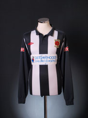 2011-12 Chorley Home Shirt L/S XL