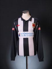 2011-12 Chorley Home Shirt L/S XL