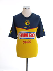 2011-12 Club America Home Shirt L