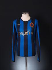 2011-12 Club Brugge Home Shirt L/S L