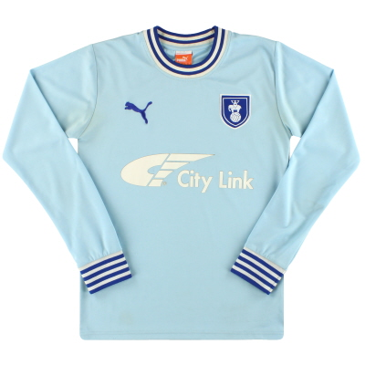2011-12 Coventry Puma Home Shirt L/S S