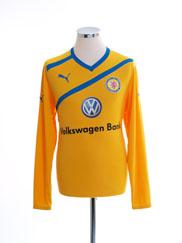 2011-12 Eintracht Braunschweig Away Shirt L/S *Mint* M